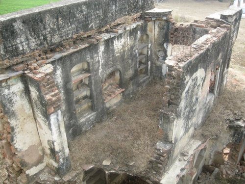 Ruins of Sikh Village Hondh Chillar that was destroyed during the Hondh Massacre in November 1984 (File Photo: 2011)